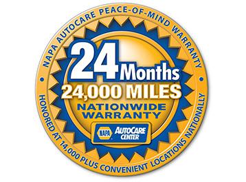 NAPA Warranty!